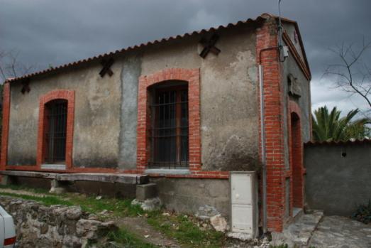 L'ancienne usine électrique de Laroque des Albères