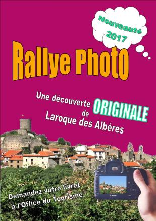 affiche rallye photo laroque des albères